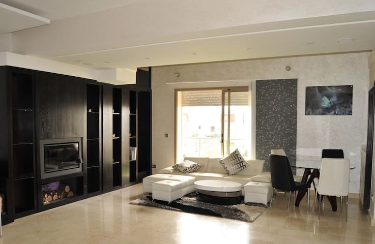 Appart/Flat Bouskoura Golf City Casablanca - bouskoura - Apartament