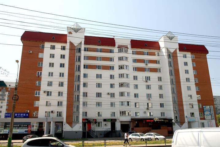 вид дома со стороны ул.Суворова