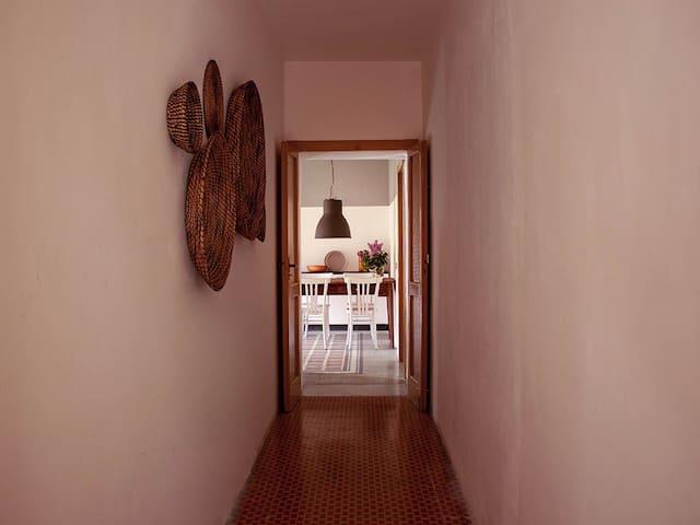 il corridoio comune agli appartamenti