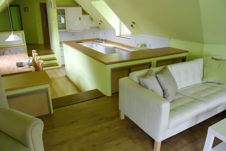 Apartment in a quiet location 15 minutes to Prague - Chrustenice - Flat
