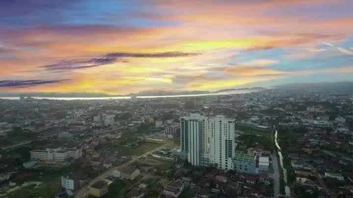 Two bed - Sky view condo 21st floor in Vientiane