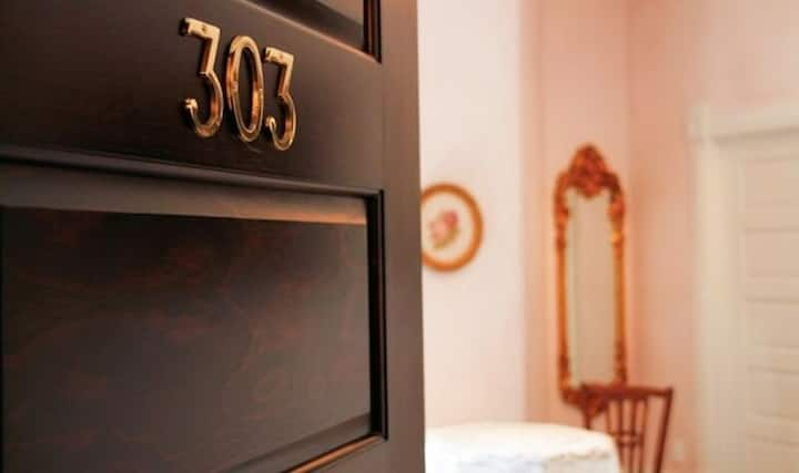 Palace Hotel Condos- Suite 303- Elegant Suite with Historic Style
