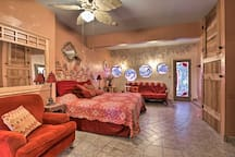 Up to 4 guests can stay in this spacious, gorgeous master bedroom.