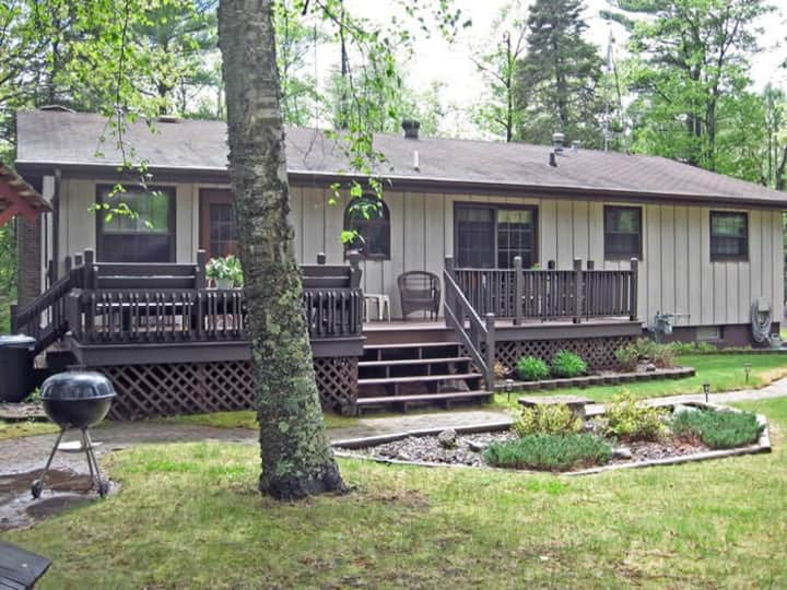 Crazy Loon Lodge on Little St Germain Lake