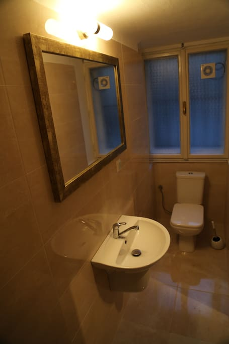 Bathroom, another view