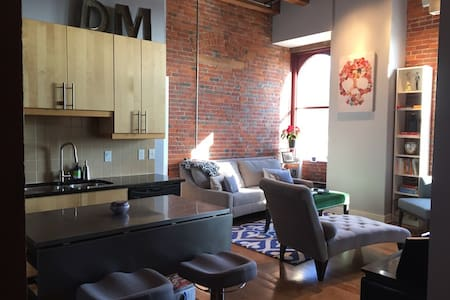 Modern Downtown Loft 10 Minutes from OSU - Columbus