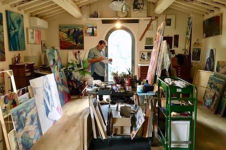 The Artist's Hayloft - Montespertoli - Haus