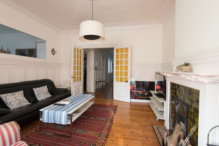 special! beautiful, historic value, large, central - Bilbao - Apartment