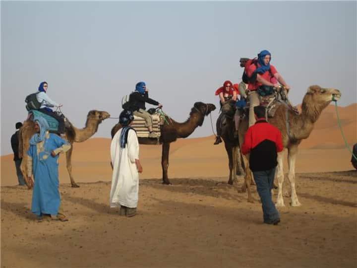 TOUR 3 JOURS 2 NUITS SAHARA MERZOUGA DESERT