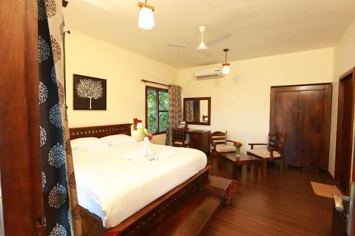 Superior room in a backwater resort