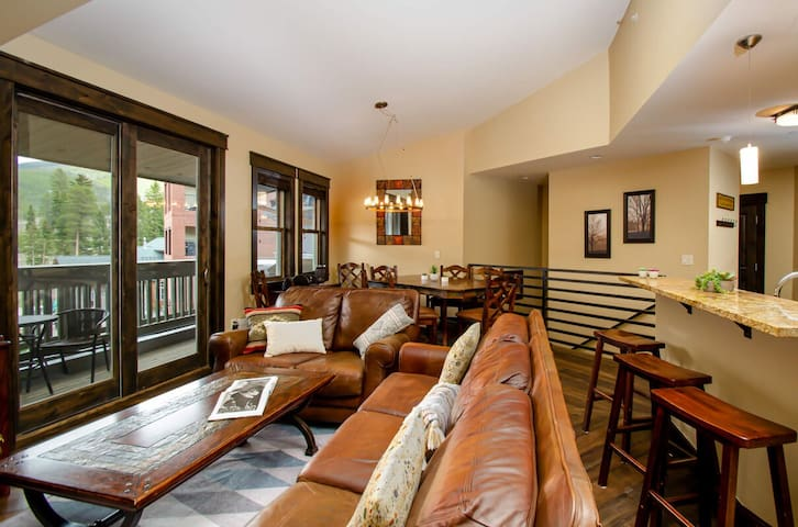 Walk Out To Everything | Base Area Loft | Ski In / Ski Out | Private Garage