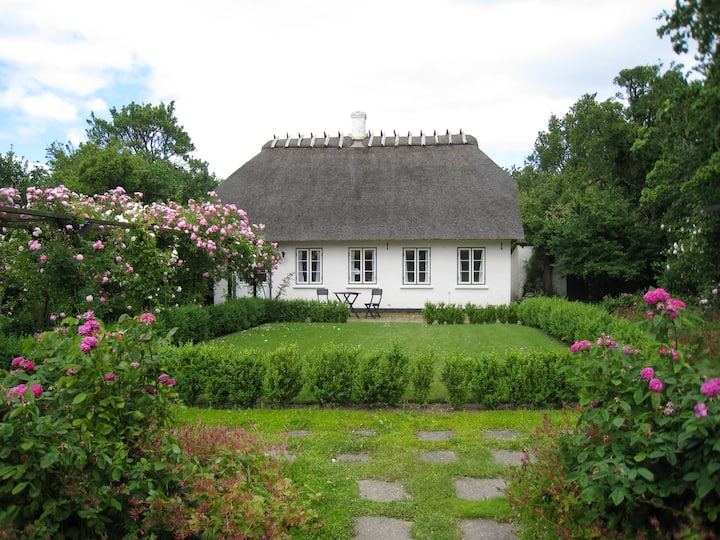 Alshuset, our old thatched cottage
