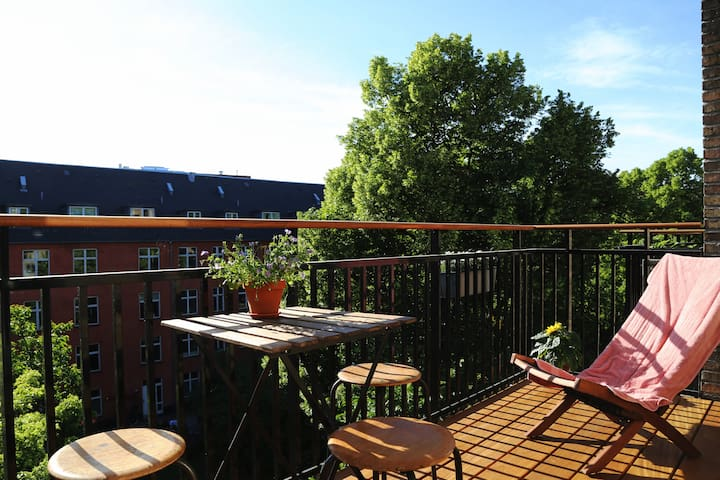 Cozy apartment with lovely atmosphere (w/balcony)