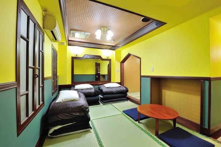 5min to SENSOJI/3ppl PRIVATE JAPANESE ROOM/ST3