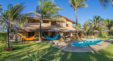 House with 4 suites/ swimming pool /best kitesurf