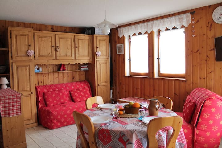 Apartment in 50m of the slopes of Mont-Chéry