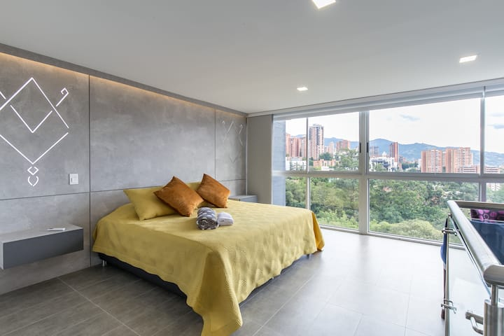 Duplex Apartment - El Poblado - Lovely View 802