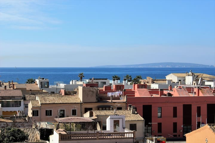 Apartment with desirable sea views in Molinar. - Palma - Apartment
