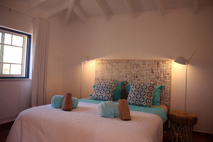 completely refurbished an redecorated master bedroom