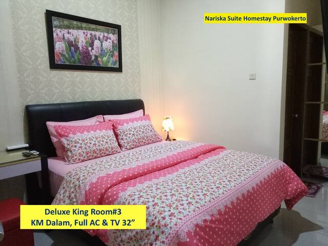 Deluxe King Room#3, Full AC and TV 32""
