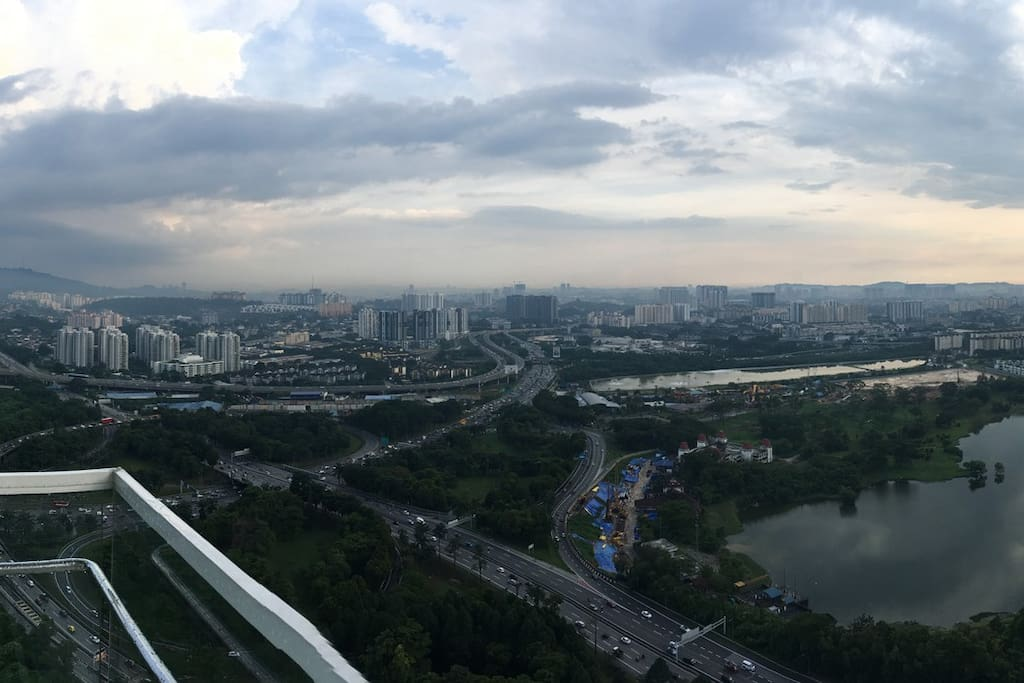 Panoramic View of Taman Desa Lake View