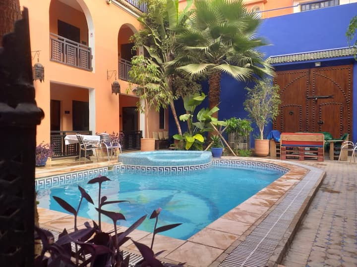 Riad Imourane Tamraght, piscine/surf/excursion...