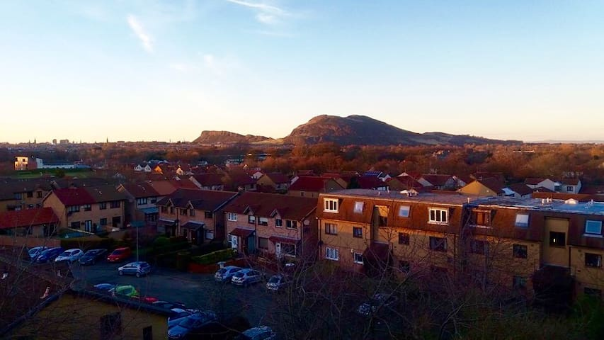 Double Bedroom flat with good view of Edinburgh. - Edimburgo - Apartamento