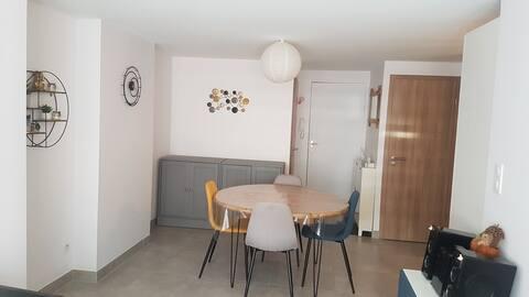 Rustig appartement in het stadscentrum voor 2 personen