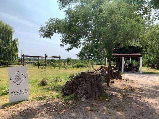 Las Acacias casona de campo - Habitación triple