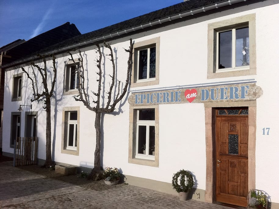 Epicerie am duerf chambres d 39 h tes louer for Chambre d hote luxembourg
