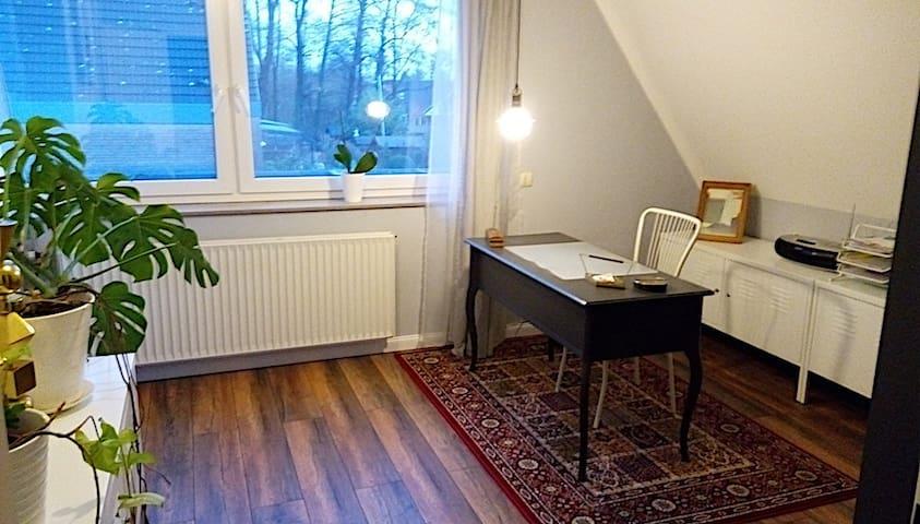 Modernes Zimmer im Hamburger Umland - Kölln-Reisiek - Rumah