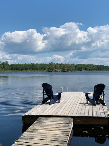 Coldwater/Severn  Ontario cottage for rent on lake