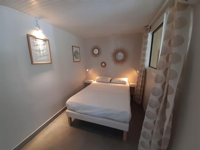 Une chambre climatisée