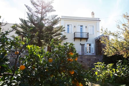 Beautiful Traditional Mansion & Orchard in Chios