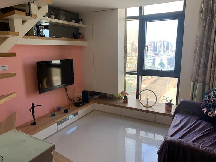 Luxury w/view, 5 minute to MRT w/Kitchen, Raohe