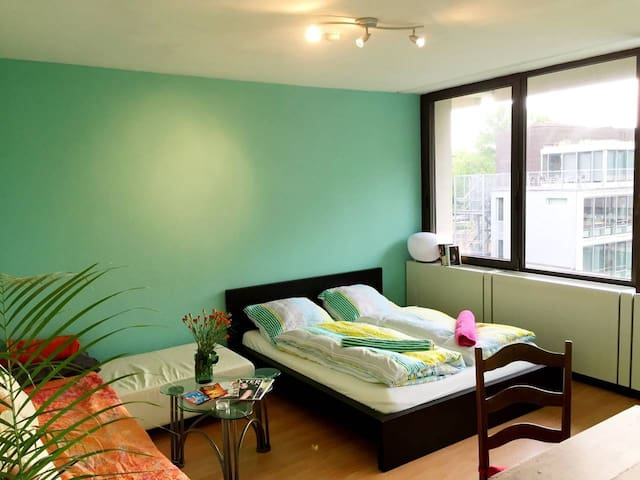 Top central and quiet apartment in green area