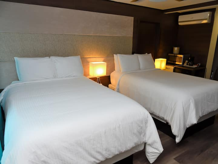 Deco Boutique Hotel, Standard, two Double beds