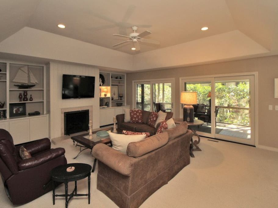 Living Room at 9 Bald Eagle