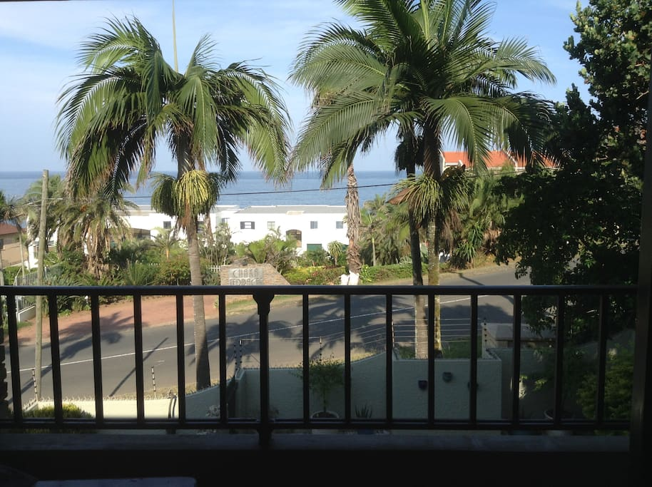 Lovely see views from balcony off the main bedroom - perfect for morning coffee and rusks or sundowners