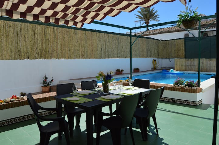 TWO BEDROOMS APARTMENT WITH PRIVATE POOL