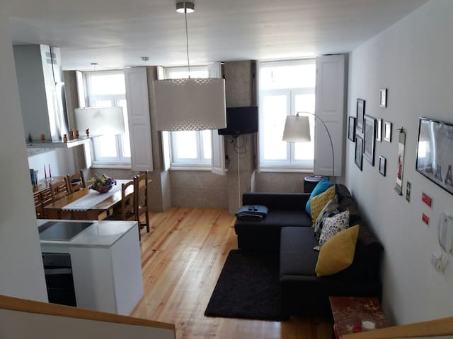 New&Bright Duplex Flat with terrace! - Porto - Wohnung