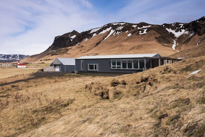 Presthus 1 - exceptional view/privacy, Reynisfjara