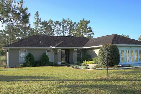 3/2 Home w/ Heated Pool at Ocala National Forest - โอคาลา - บังกะโล