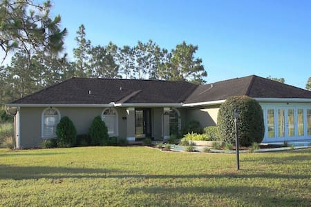 3/2 Home w/ Heated Pool at Ocala National Forest - Ocala - Bungalow