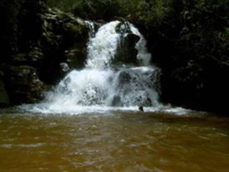 Cachoeira da Eubiose a 50 metros da Pousada