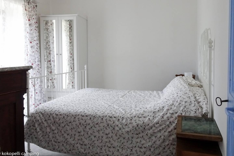 First floor bedroom with adjoined bathroom.