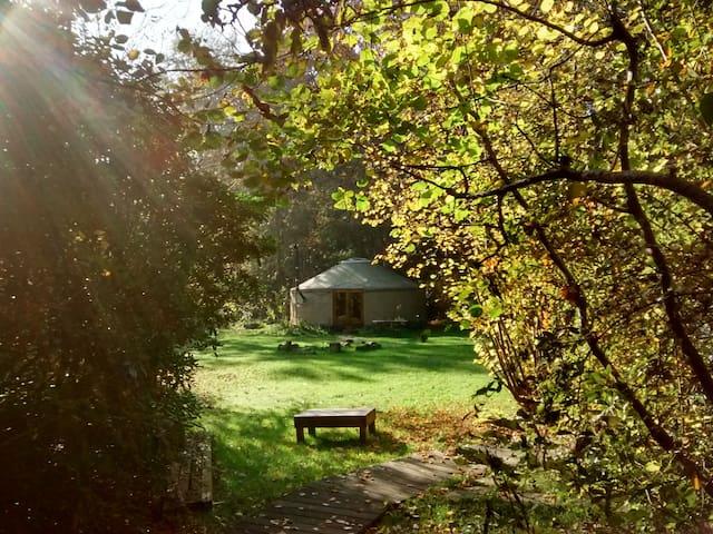 Yurt Galderrijk, lekker buiten-leven vlakbij Breda