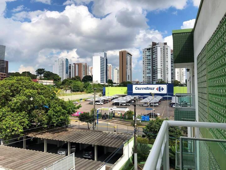 Apto. em frente ao Shp Manauara Carrefour, B. King