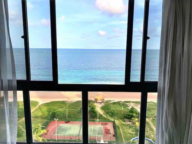 Flat Boa Viagem Recife de frente pro mar