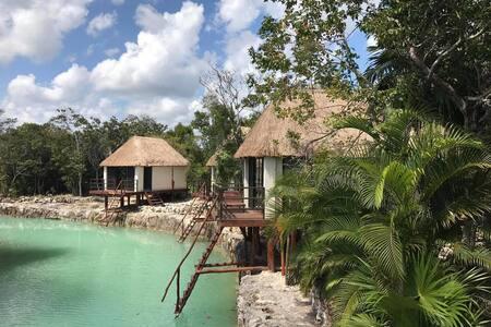 Zamna Tulum  (Eco-Cabañas / Vista al Cenote) - Quintana Roo - Luontohotelli